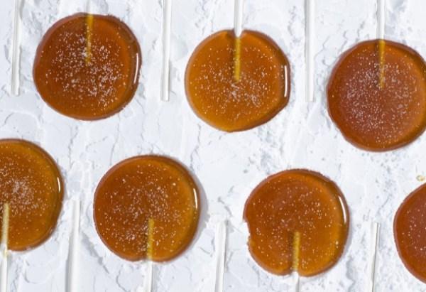 Mulled Cider Lollipops