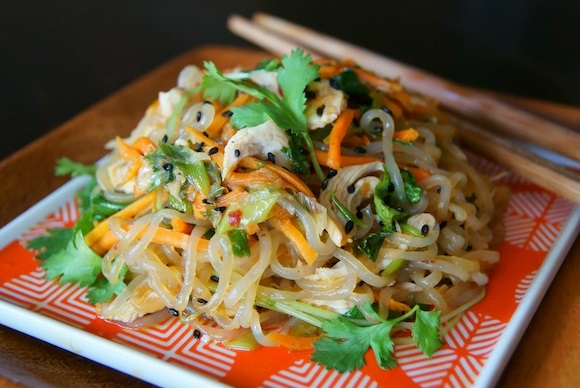 Sesame Chicken Shirataki Noodle
