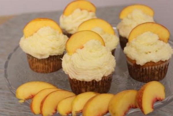 Ciroc Peach Vodka Cupcakes