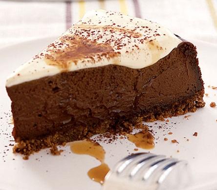 Coffee and Chocolate Cheesecake
