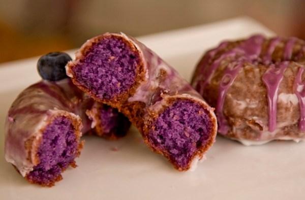 Purple Velvet Doughnuts