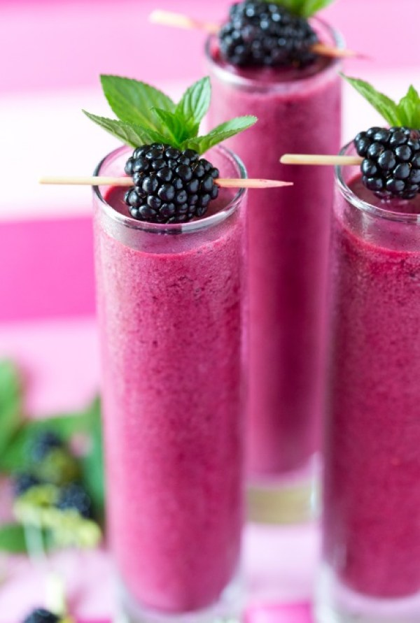 Frozen Blackberry Coolers