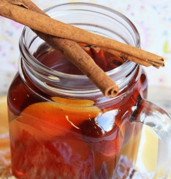 Homemade Autumn Spiced Apple Tea