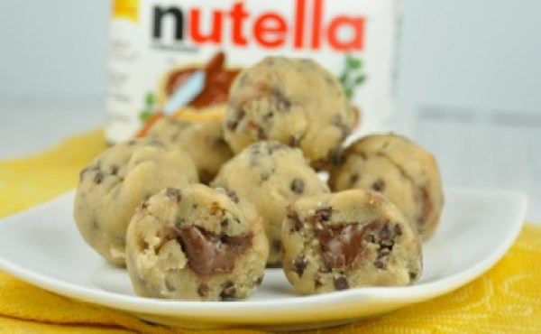 Stuffed Cookie Dough Bites