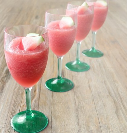 Watermelon Wine Slushie