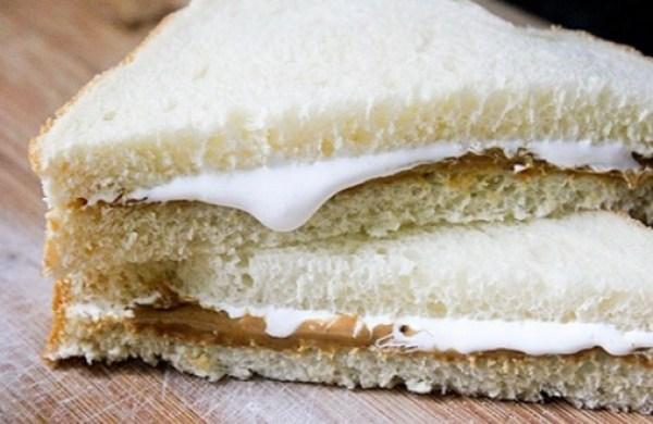 Classic Fluffernutter Sandwich