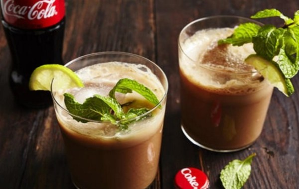 Spicy Chocolate Coca-Cola Mocktail