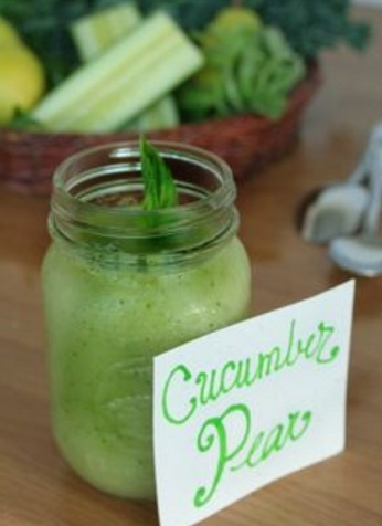 Cucumber, Lime & Pear Protein Smoothie