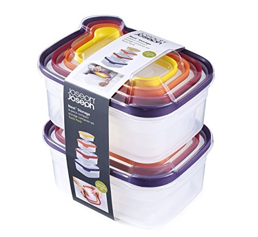 Joseph Joseph 4-Piece Nest Storage Twin Pack