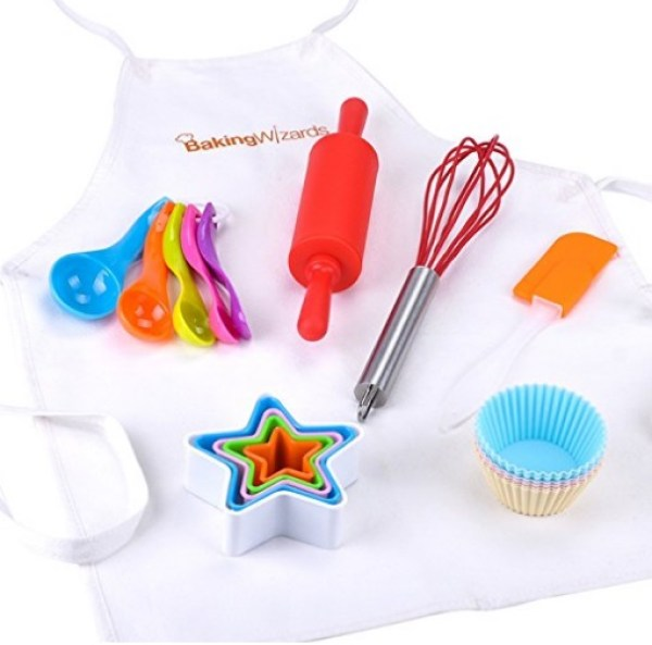 20 Piece Kids Cooking and Baking Set