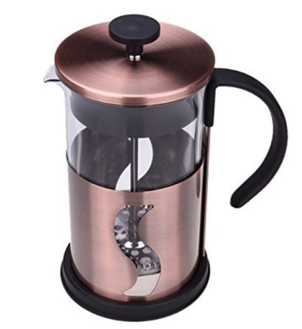 Matte Copper Coffee Press