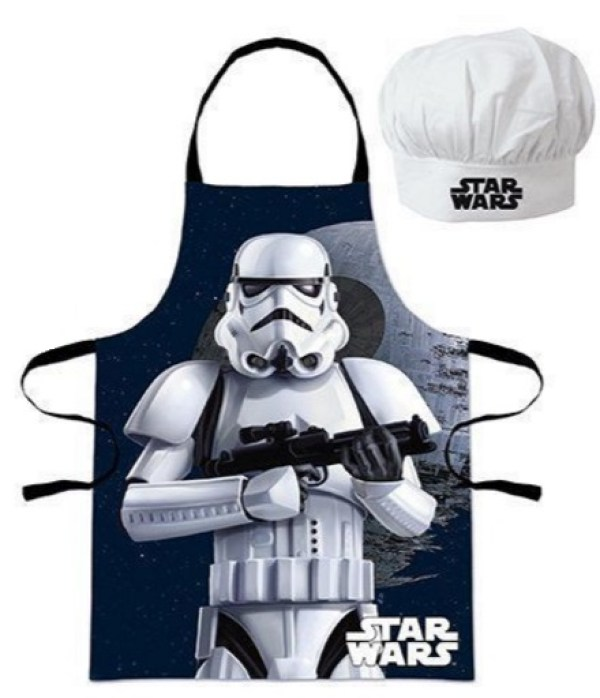 Stormtrooper Apron and Chef's Hat Set