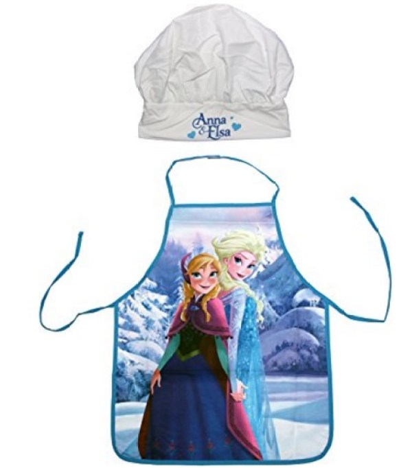Disney Frozen Children's Novelty Apron and Chef's Hat Set