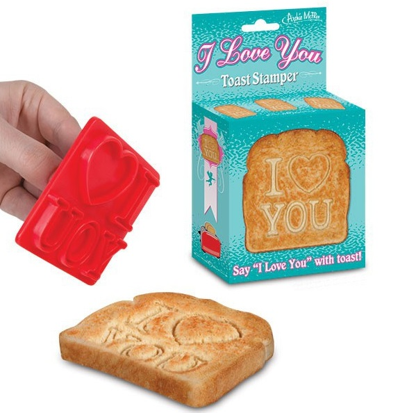 I Love You Bread Stamp