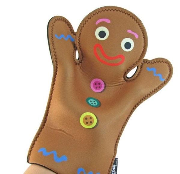 Gingerbread Oven Gloves