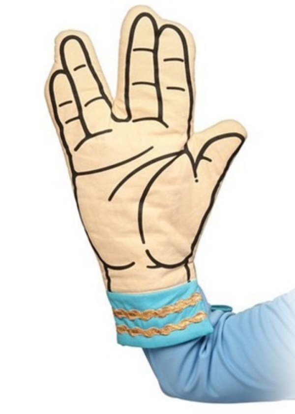 Star Trek Spock Oven Gloves