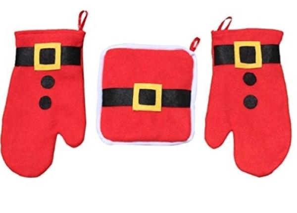 Christmas Oven Gloves