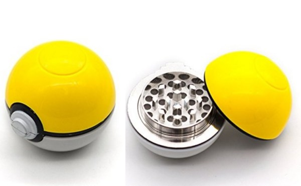 Poke ball Herb Grinder