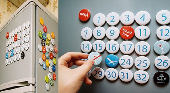 Calendar Fridge Magnets