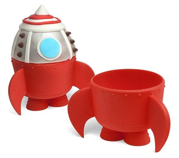 Rocket Ship Baking Cups