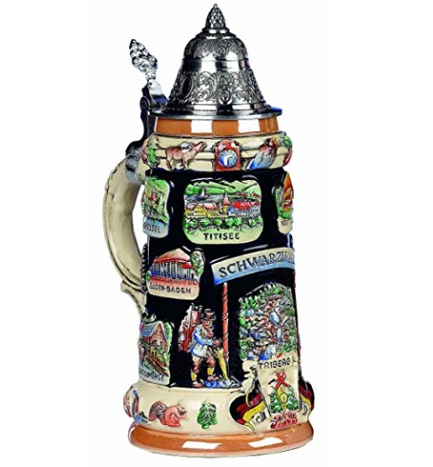 Black Forest Panorama Beer Stein
