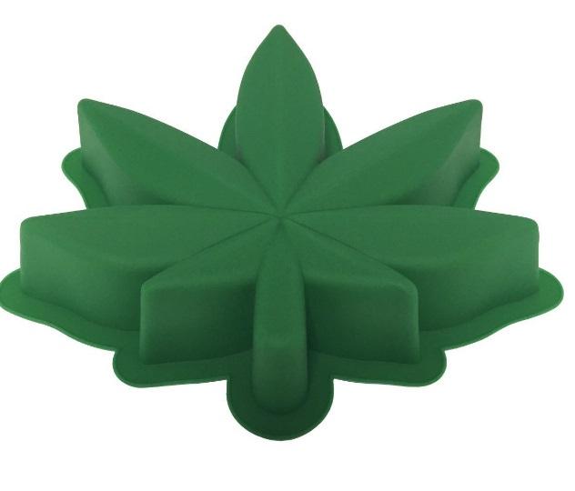 Marijuana Leaf Cake Pan