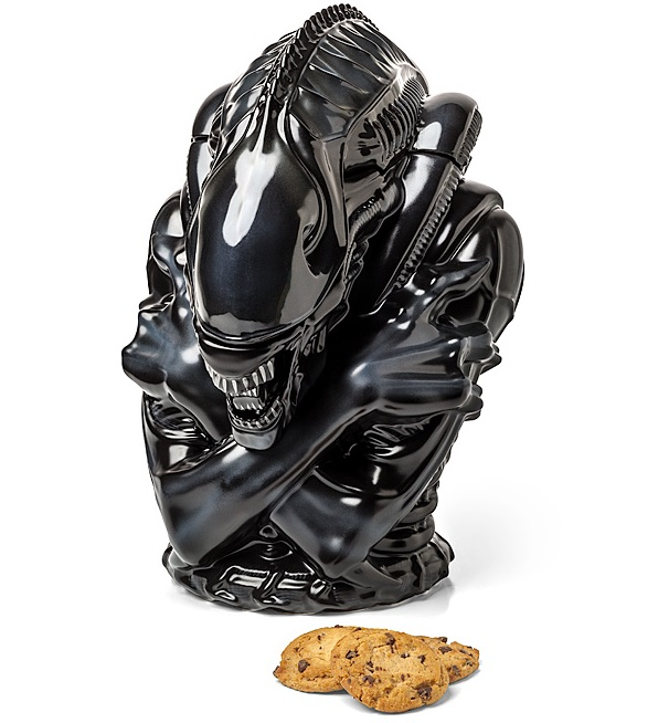 Aliens Cookie Jar