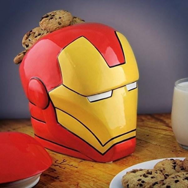 Iron Man Cookie Jar