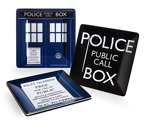 Doctor Who Plates