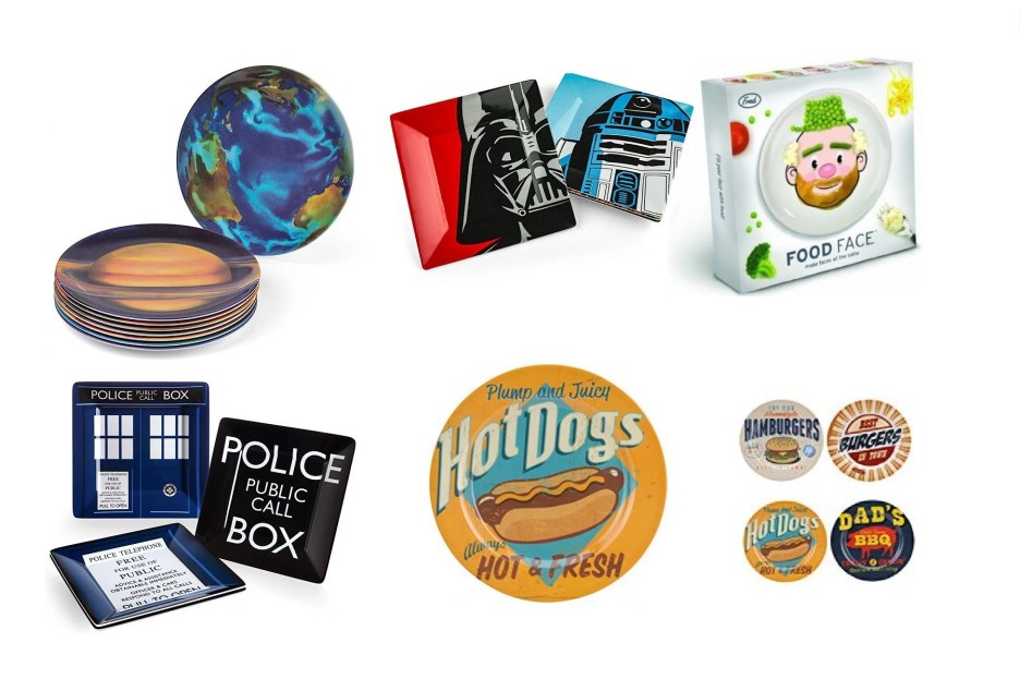 Top 10 Amazing, Nerdy and Unusual Kitchen Dinner Plates