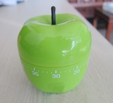 Apple Kitchen Timer