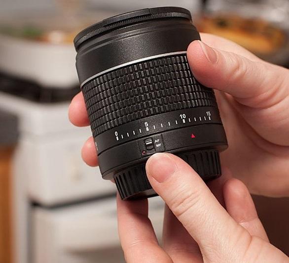 Camera Lens Kitchen Timer
