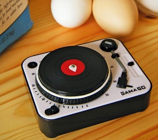 DJ Turntable Kitchen Timer