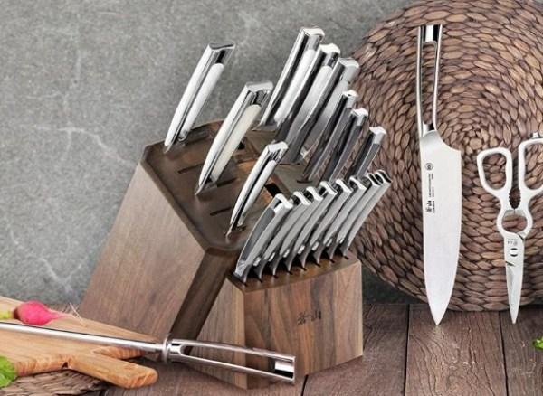 22 Piece German Knife Block