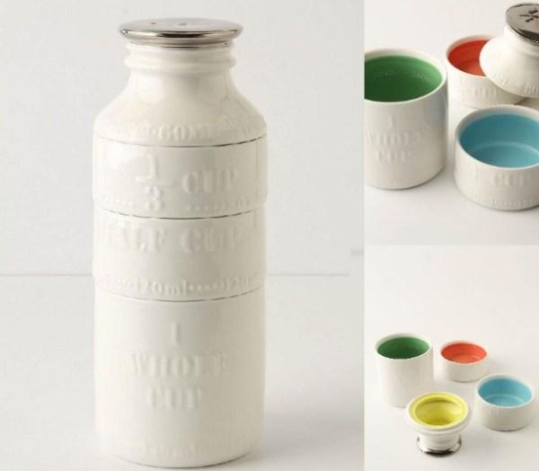 Milk Bottle Measuring Cup Set