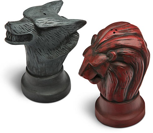 Game of Thrones Salt & Pepper Pots