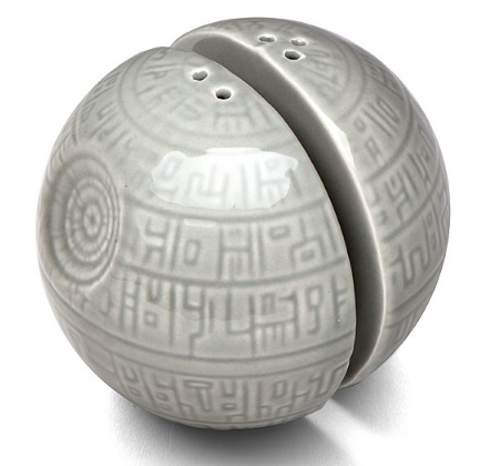 Death Star Salt & Pepper Pots