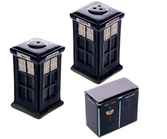 TARDIS Salt & Pepper Pots