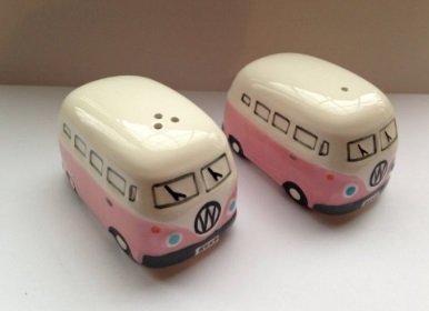 Camper Van Salt & Pepper Pots