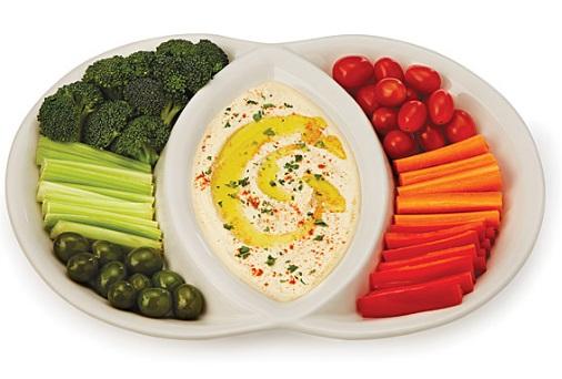 Venn Diagram Serving Platter