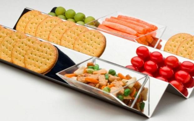 Crimped Serving Platter