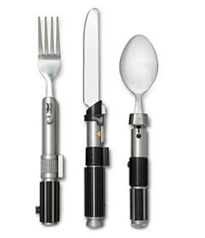 Lightsaber Cutlery Set
