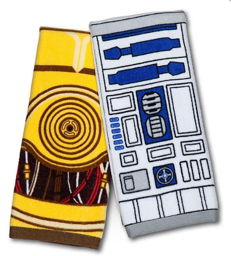 R2-D2 & C-3PO Tea Towels