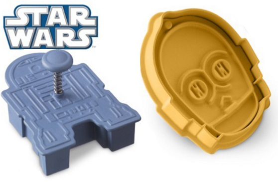 R2-D2 & C-3PO Cookie Cutters