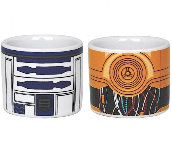 R2-D2 & C-3PO Egg Cup Set