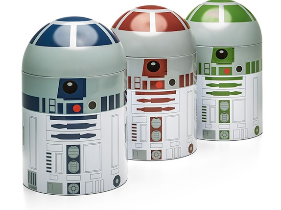 R2 Droids Coffee, Tea & Sugar Canisters