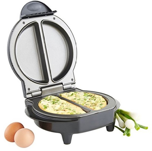 Dual Electric Omelet Maker