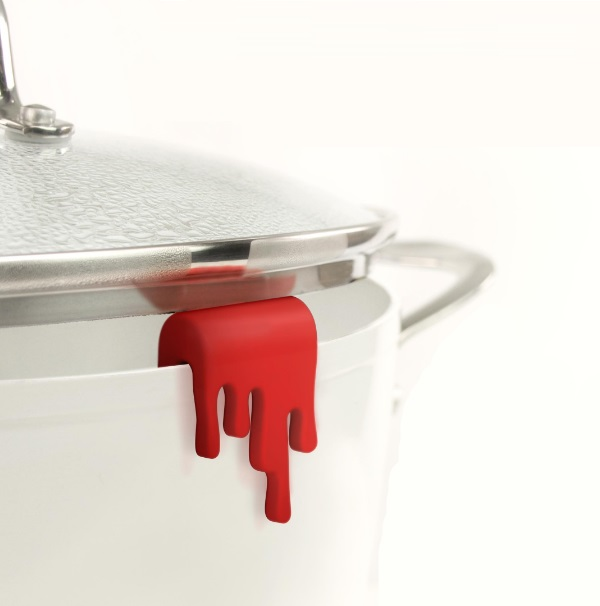 Splash Sauce Pan Lid Holder