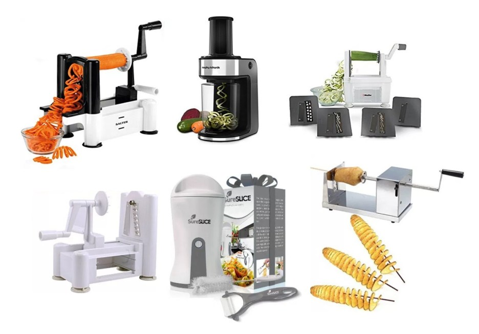 Top 10 Amazing, Novelty and Unusual Veg and Fruit Spiralizers