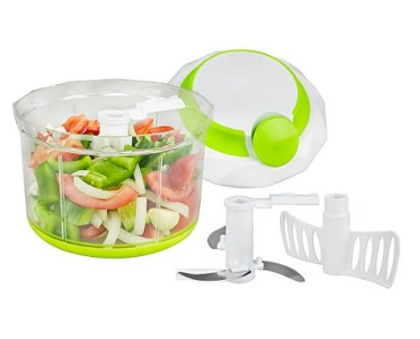 Manual Blender Style Vegetable Cutter/Dicer